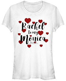 Juniors Warner Bros Friends TV Rachel To My Monica Racerback Tank Top