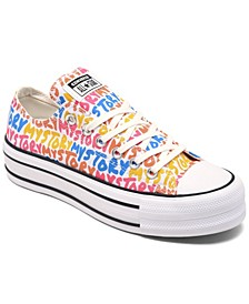 Women's Chuck Taylor All Star My Story Platform Casual Sneakers from Finish Line