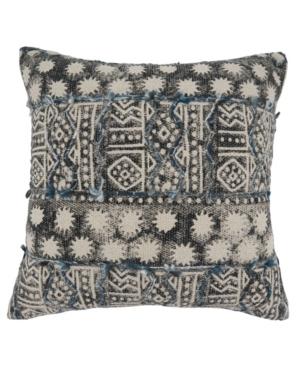 """Saro Lifestyle Pillows EMBROIDERED PILLOW, 20"""" X 20"""""""