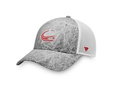 Authentic Headwear Columbus Blue Jackets Ice Field Trucker Cap