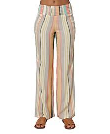 Juniors' Johnny Striped Pants