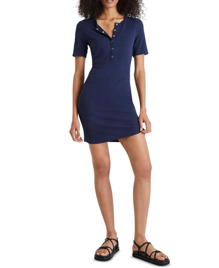 French Connection Paze Ribbed Bodycon Dress & Reviews - Dresses - Women - Macy's