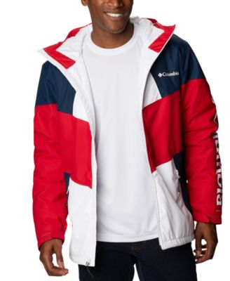 Men's Hazel Deli Colorblocked Hooded Jacket