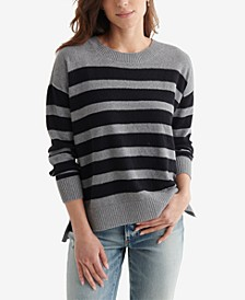 Blocked Striped Sweater