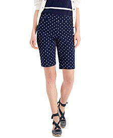 Petite Lucile Printed Shorts, Created for Macy's