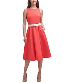 Laguna Belted Midi Dress