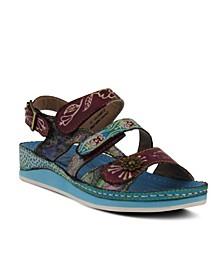 L'Artiste Women's Sumacah Slingback Sandals