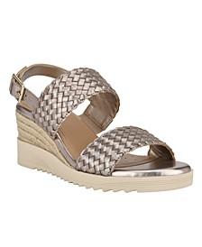 Martha Stewart x Women's Zuri Wedge Sandals