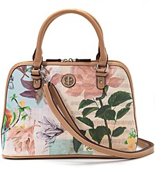 Saffiano Vintage Dome Satchel, Created for Macy's