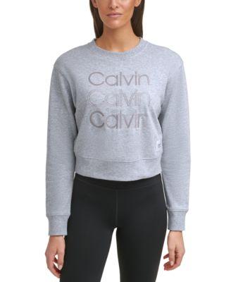 Embroidered-Logo Sweatshirt