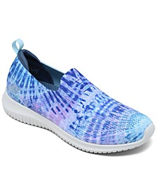 Women's Ultra Flex - Ombre Bliss Walking Sneakers from Finish Line