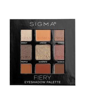 Sigma Beauty Palettes FIERY EYESHADOW PALETTE