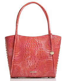 Bailee Melbourne Embossed Leather Tote