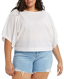 Plus Size Lucy Wide-Sleeve Top