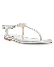 Betsey Johnson Diane Flat Sandals