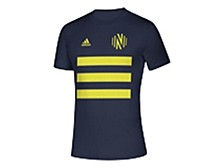 Men's Nashville SC Three Stripe Life Pitch Creator T-Shirt