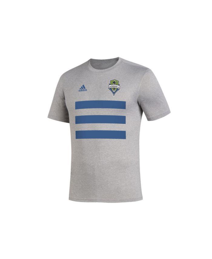 Adidas Men's Seattle Sounders Three Stripe Life Pitch Creator T-Shirt & Reviews - Soccer - Sports Fan Shop - Macy's