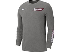 Men's Oklahoma Sooners Dri-fit Cotton Long Sleeve T-Shirt