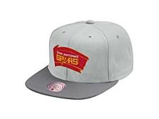 San Antonio Spurs Hardwood Classic Cool Gray 3 Snapback Cap