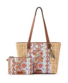 Meadow Medium Tote with Pouch