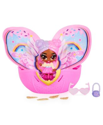 Hatchimals Pixies Wilder Wings Pixie with Fabric Wings and 2 Accessories