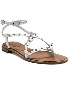Women's Darian Strappy Flat Sandals, Created for Macy's