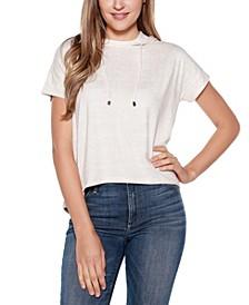 Short Sleeve Hoodie T-Shirt