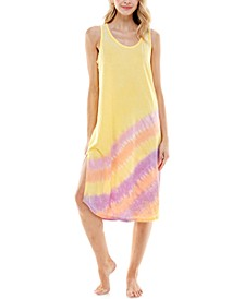 Tie-Dyed Sleeveless Nightgown
