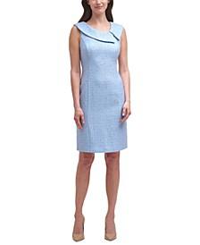 Collared Sheath Dress