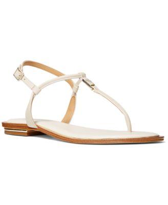 Fanning Thong Sandals