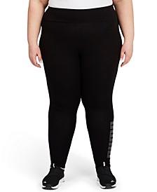 Plus Size Modern Basics High-Waist Leggings