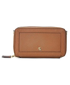Crosshatch Leather Danna Crossbody