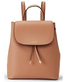 Dryden Flap Leather Backpack