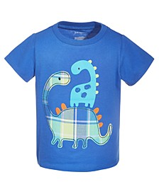 Toddler Boys Dino Family Cotton T-Shirt, Created for Macy's