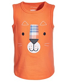 Baby Boys Tiger Cotton Tank Top, Created for Macy's