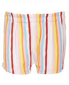 Baby Girls Bright Stripes Bloomer Shorts, Created for Macy's
