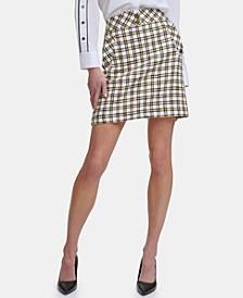 Karl Lagerfeld Tweed Mini Skirt