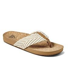 Women's Cushion Strand Sandals