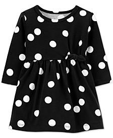 Baby Girls Dot-Print Dress