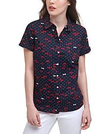 Shades Cotton Camp Shirt