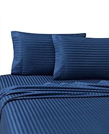 Christie Cotton Stripe 4 Piece Sheet Set