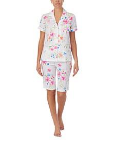 Bermuda Shorts Pajama Set