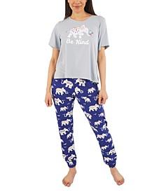 Elephant Pajama Set