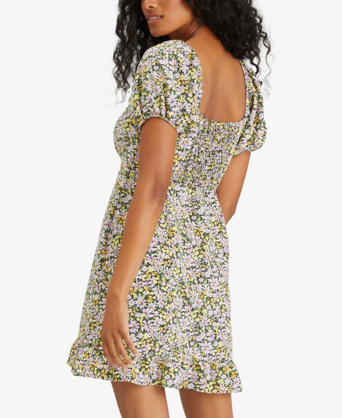 Sanctuary Fresh Breeze Ditsy-Print Ruffled-Hem Dress & Reviews - Dresses - Women - Macy's