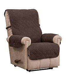 Ripple Plush Secure Fit Recliner Furniture Cover