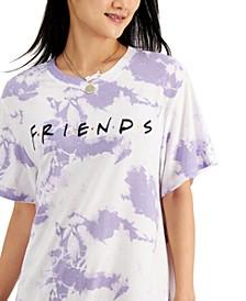 Juniors' Friends-Graphic T-Shirt Dress
