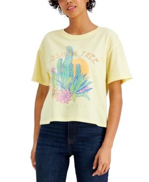 Juniors' Joshua Tree-Graphic T-Shirt