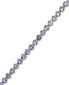 Sterling Silver Tanzanite Tennis Bracelet (10 ct. t.w.)