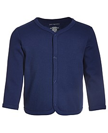 Baby Boys & Girls Solid Cotton Cardigan, Created for Macy's