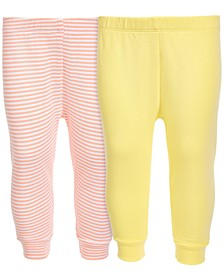 Baby Boys & Girls 2-Pc Cotton Jogger Pants Set, Created for Macy's
